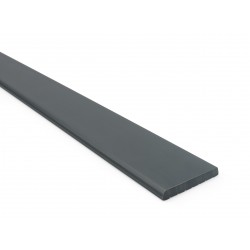 Wall-mounted system strip LP, dark gray, 1.5 m