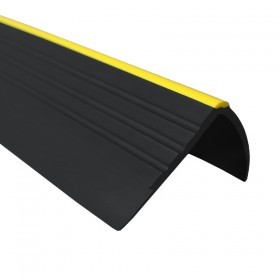 Non-slip stair nosing RD-O warning 1,5m black