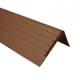 Non-slip stair nosing RF 1,5m, brown