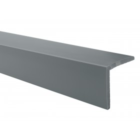 Angle strip LZ, dark gray, 1.5 m stair profile