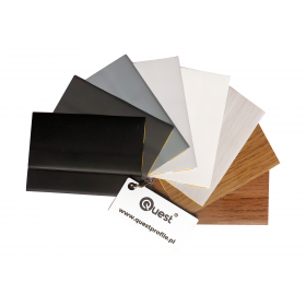 Range of colours of self-adhesive skirting boards 800-14